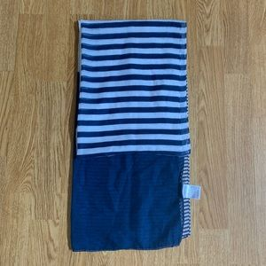 Vintage Woven Striped Scarf